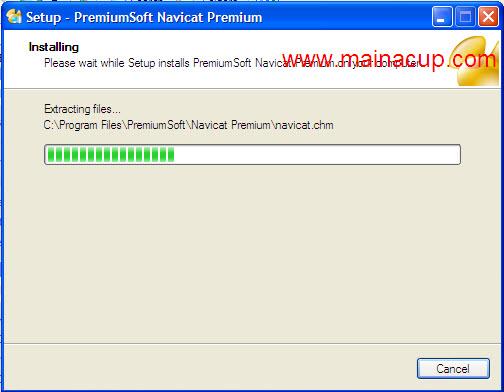 การติดตั้งโปรแกรม Navicat For Mysql จัดการฐานข้อมูล Mysql