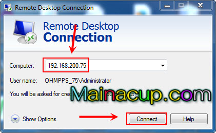How to clear remote desktop credentials connection