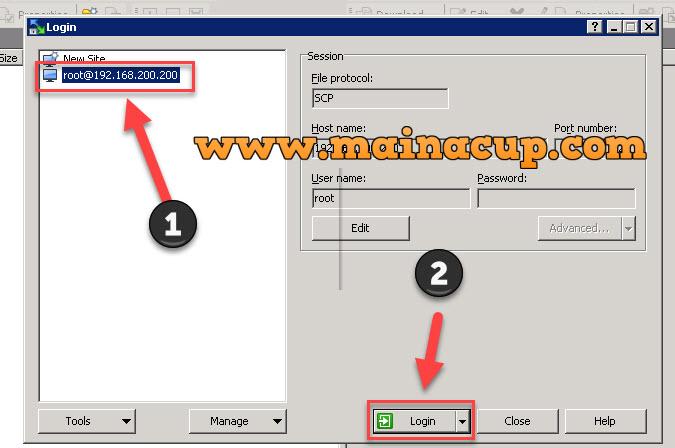 การติดตั้งโปรแกรม Winscp เพื่อถ่ายโอนไฟล์ระหว่าง Server (FTP หรือ SSH)