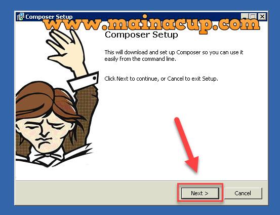 วิธีการติดตั้ง Composer บน Windows 7
