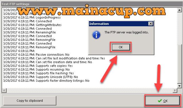 การ Backup Mysql Database แบบ FTP ข้าม Server ด้วยโปรแกรม SyncBackPro