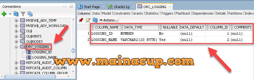 การตั้งค่าให้ Column เป็นแบบ Auto Increment บน Oracle โดยใช้ Sequence