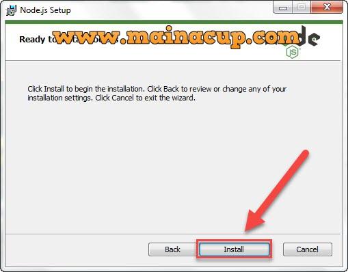 การติดตั้ง Node JS และ NPM บน Windows