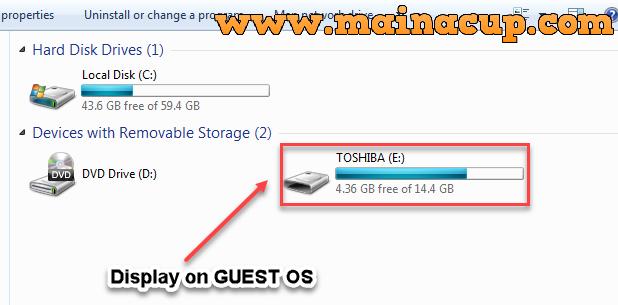 วิธีติดตั้ง VMware Tools บน  Windows 7 Guest OS