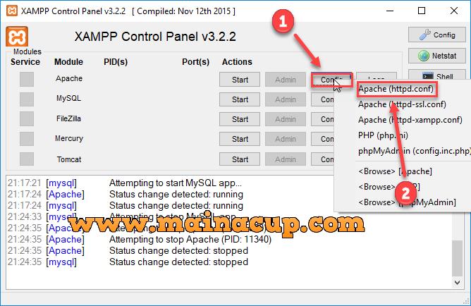 การเปลี่ยน Path Folder htdocs และ  data ของ Xampp ไว้ใน Dropbox