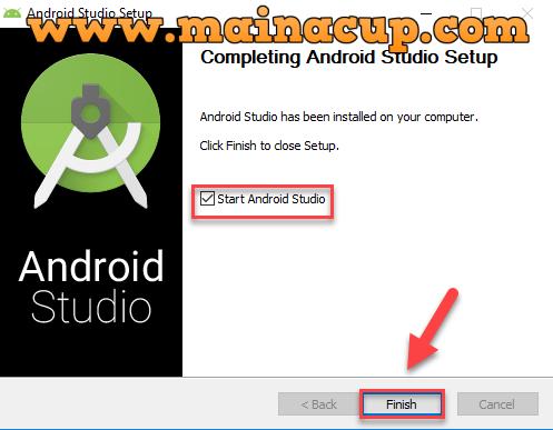 การติดตั้ง Android Studio