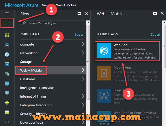 สร้าง Website แรกของคุณง่ายๆ บน Windows Azure