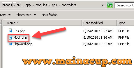การใช้งาน Codeigniter ร่วมกับ Composer (phpoffice , mpdf , mongodb)