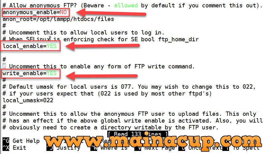 การติดตั้งและ Config Vsftpd บน CentOS 7