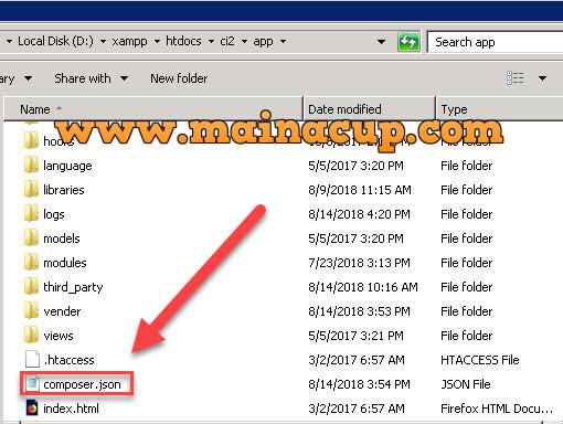 การใช้งาน PHP SFTP , SSH2 Library (phpseclib) ผ่านทาง Composer ร่วมกับ Codeginiter Framework