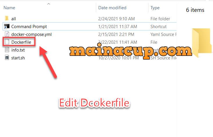 การตั้งค่า max_execution_time docker file