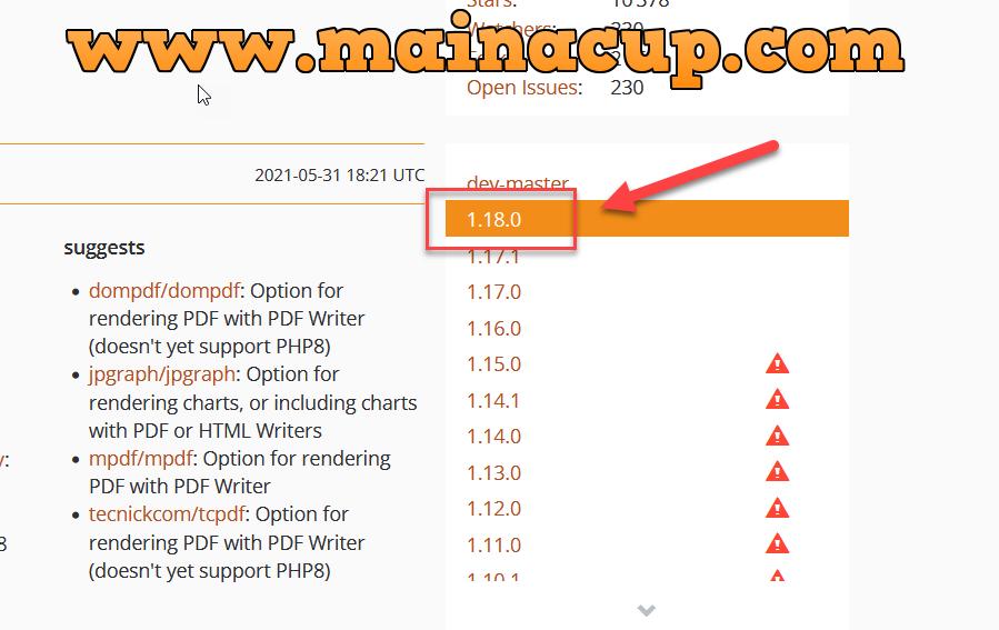 การติดตั้ง phpspreadsheet packagist ด้วย Composer เพิ่อใช้งานร่วมกับ Codeigniter 3 บน Docker Desktop Windows 10
