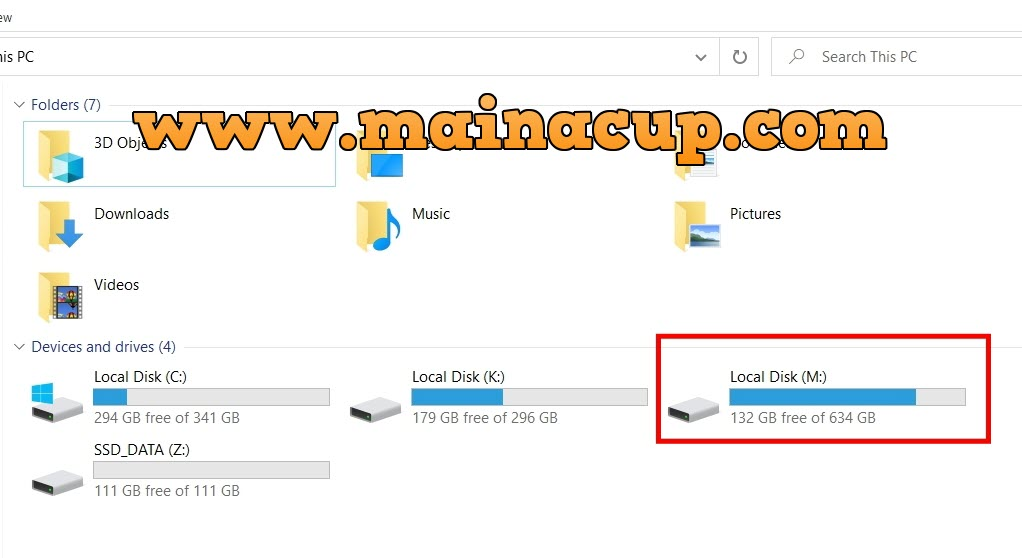 usb drive not showing in my computer windows 10